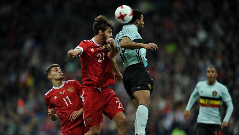 Сборная России против Бельгии сыграла вничью на матче-открытии стадиона «Фишт» в Сочи.