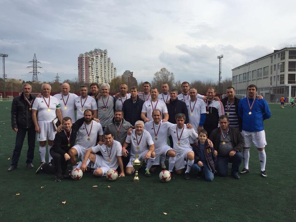 Команда ветеранов из Сочи стала чемпионами Краснодарского края.