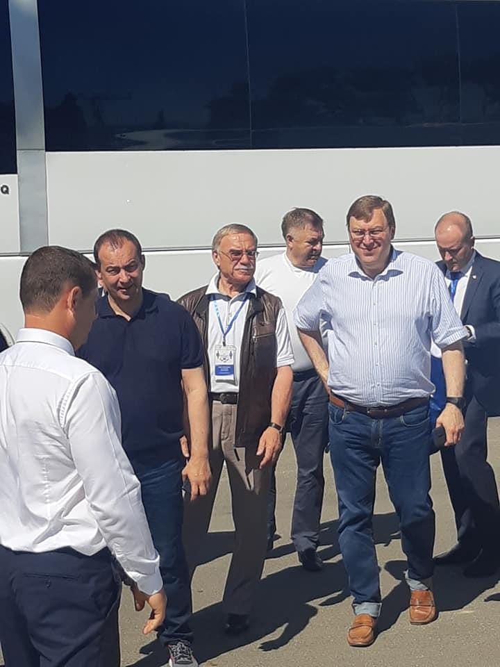 МБУ СШ№ 10 приняла участников делегации XXX Конференции Южно-Российской Парламентской Ассоциации